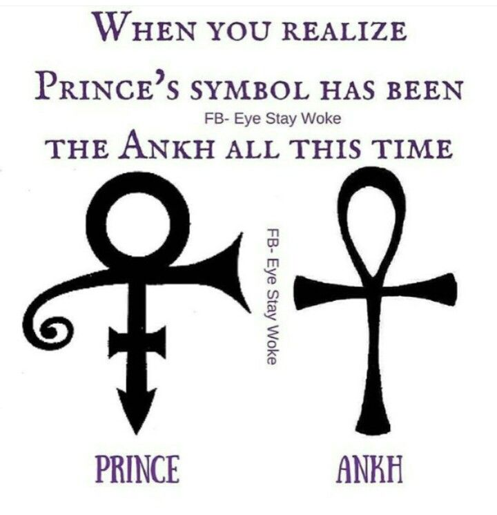 I Called It The Ankh And They Said No The Prince Symbol