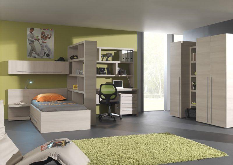 Tienerkamer interieur en decoratie kinderkamer slaapkamer en