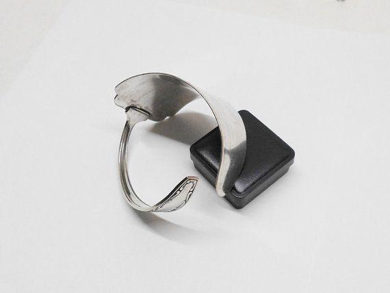 Nostalgischer Silberbesteck Armreif Besteck AB189 von Schmuckbaron