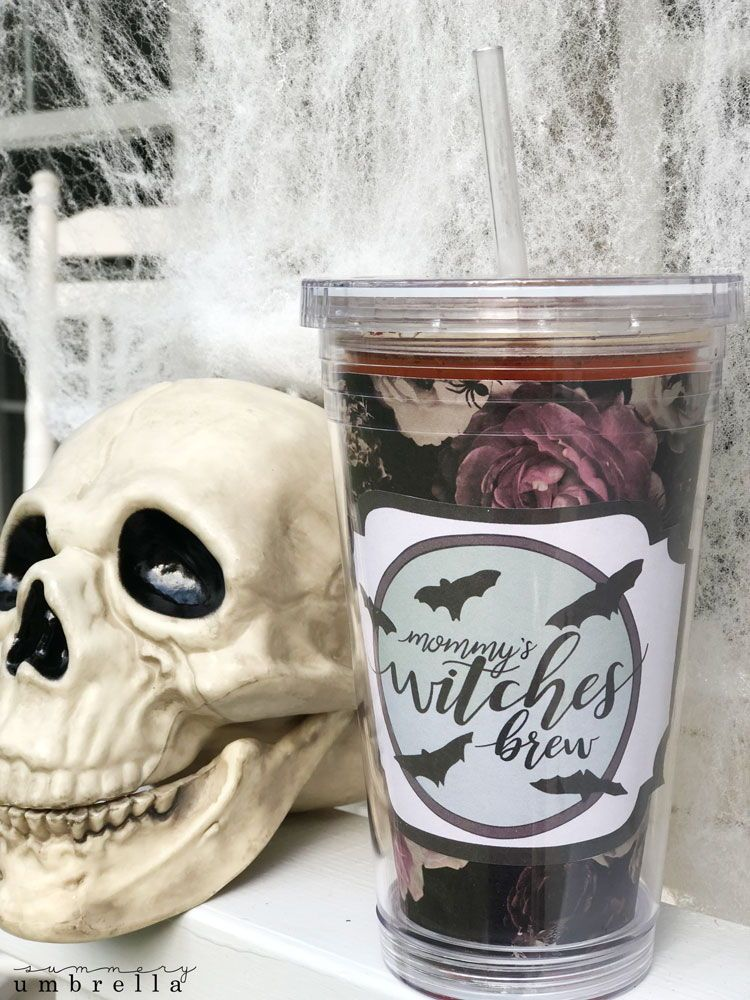 diy mommy s witches brew tumbler template with free download diy