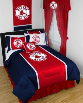 Boston Red Sox Complete Bedroom Package - Sidelines Collection