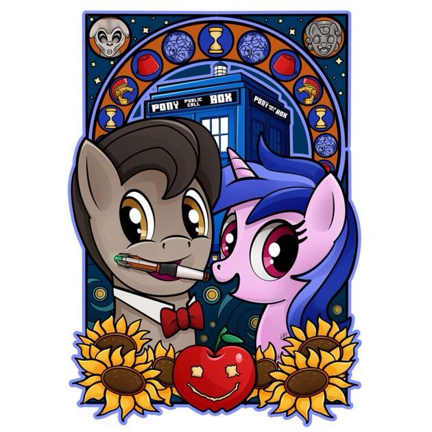 Not keen on ponies but this is Dr Who so I'll forgive them