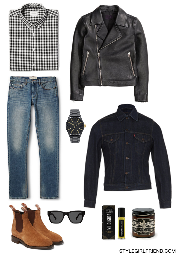 Style Girlfriend shows you how to maximize your denim jacket by layering it all fall.