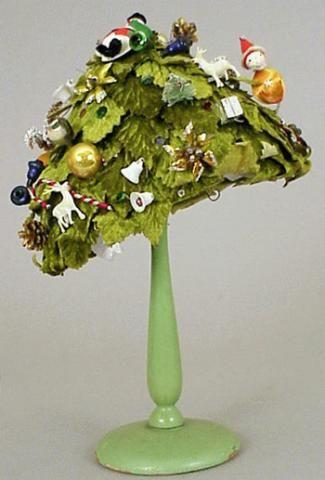 Festive Bonwit Teller Christmas Hat - Couture and Textiles | Doyle Auction House