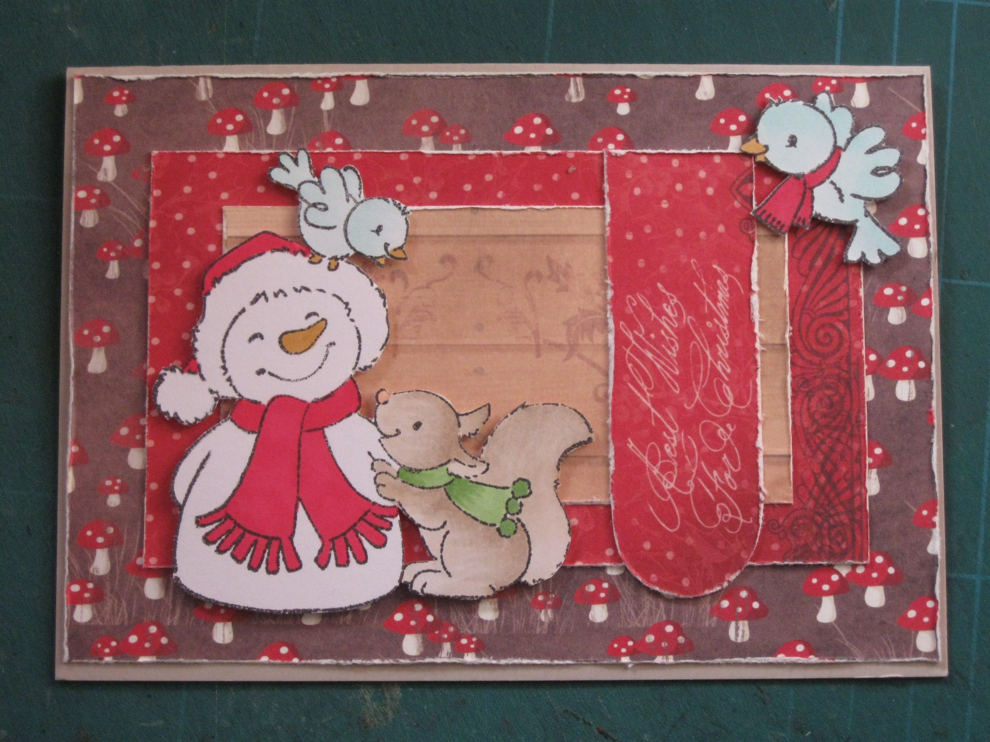 Christmas card / Eline Pellinkhof paper