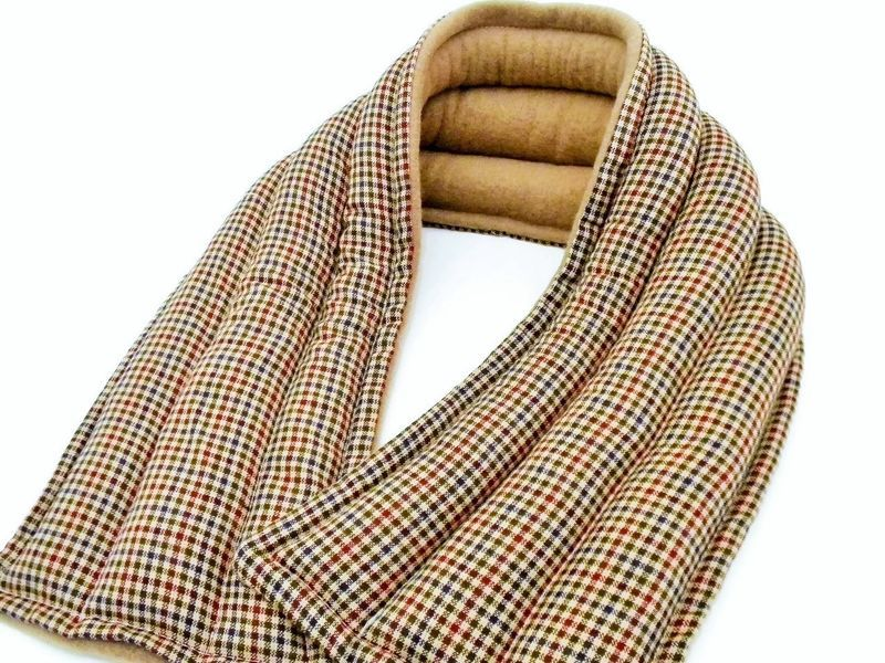 Extra Long Neck Wraps Wide Microwave Heating Pad Heat Pack
