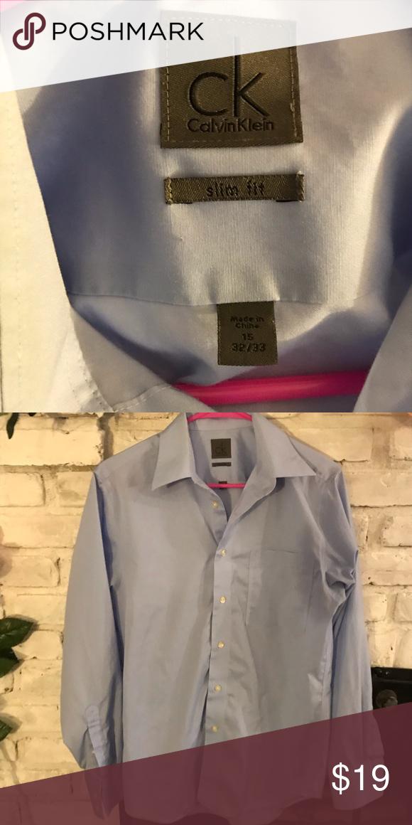 Steel Slim Fit Light Blue Stripe Dress Shirt Blue Striped Dress Shirt Shirts Slim Fit Dress Shirts