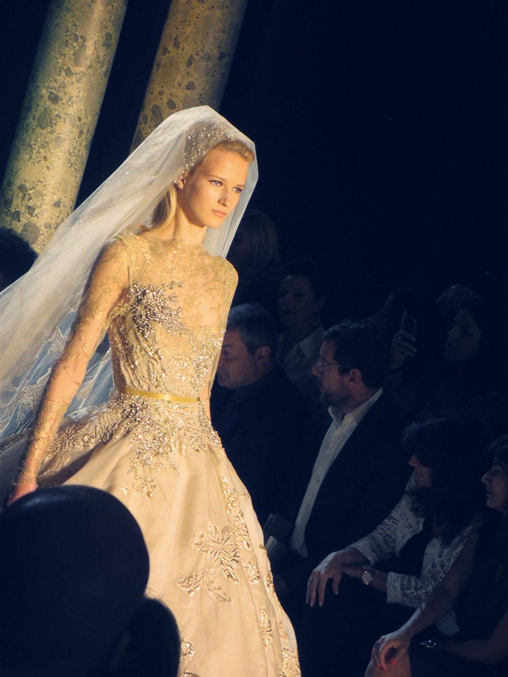 RUNWAY SCENE: Elie Saab Haute Couture A/H 2012 - Finale