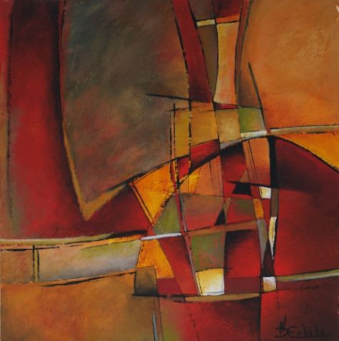Modern contemporary art luminous abstract contemporary for Modern drawing styles