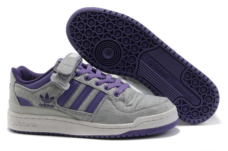 Adidas Forum Lo RS Grey Purple Shoes