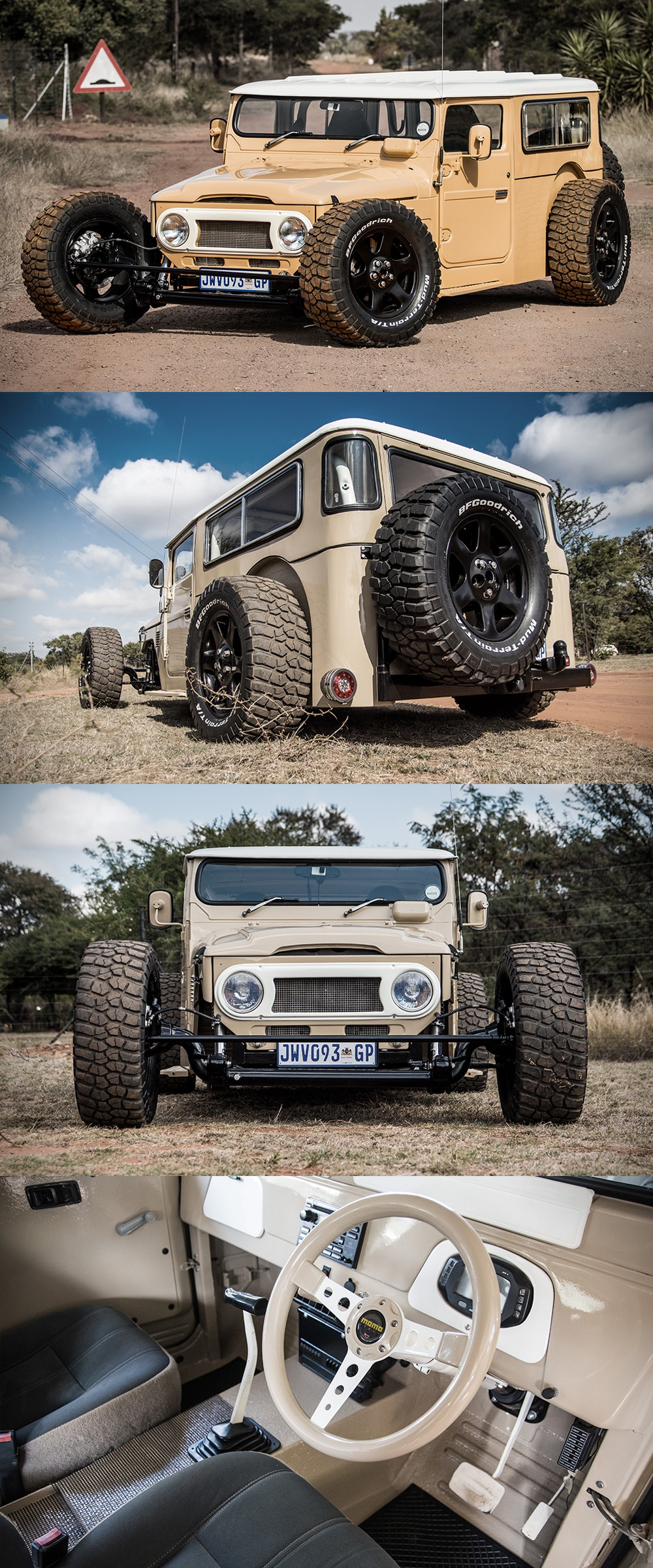 1976 Land Cruiser FJ40 Hot Rod