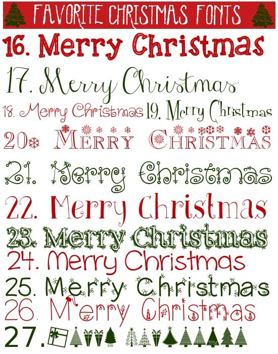 Free Christmas Printables Christmas Countdown  Bucket List Free