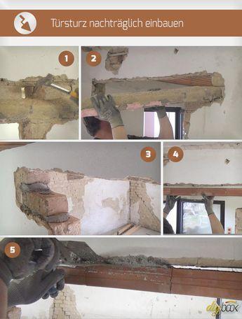 Tursturz Neu Einbauen Anleitung Diybook Haus Sanieren Haustur Einbauen Altbau Sanieren