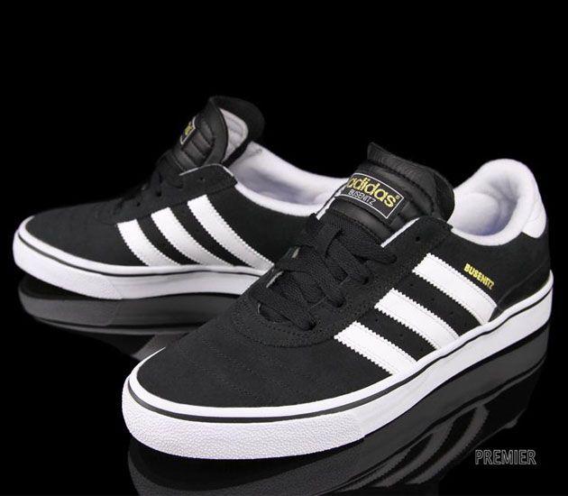 separation shoes 86866 c647b adidas Skateboarding Busenitz Vulc-Black-White  sneakers  kicks