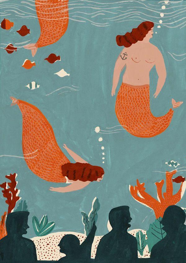 Mermaids-Naomi Wilkinson.