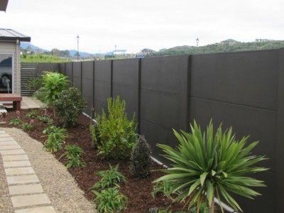 Classic Solid Walls Belaire Fencing Concrete Fence Backyard Fences Fence Design