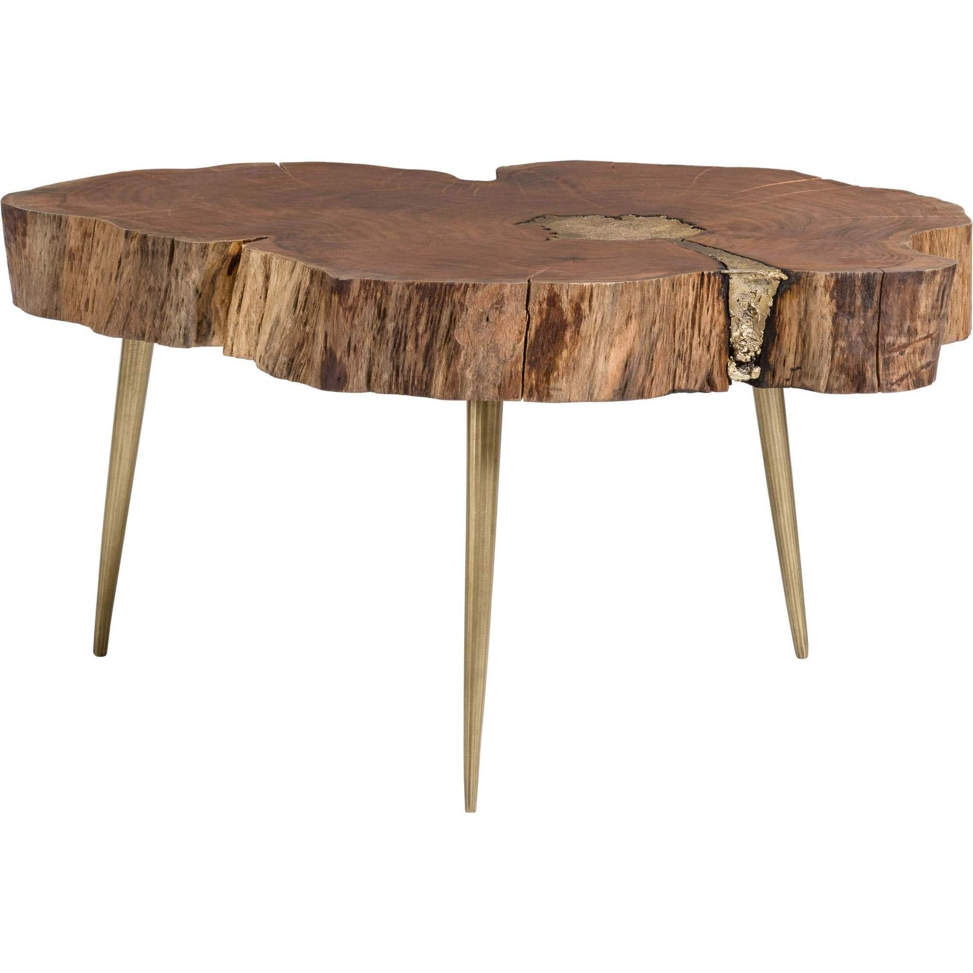 Vail Molten Coffee Table Brass Modern Wood Coffee Table Wood Coffee Table Design Coffee Table Wood [ 2000 x 2000 Pixel ]