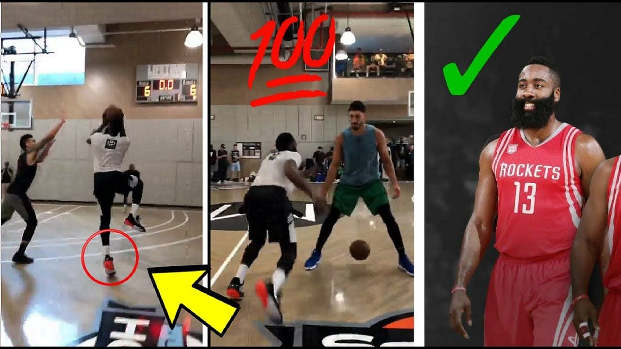 James Harden 1 on 1 Vs Knicks Guard Allonzo Trier and