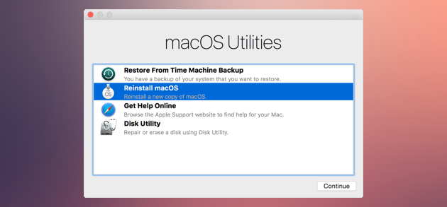 How To Wipe Your Mac And Reset It To Factory Settings Time Machine Backup Apple Menu Mac