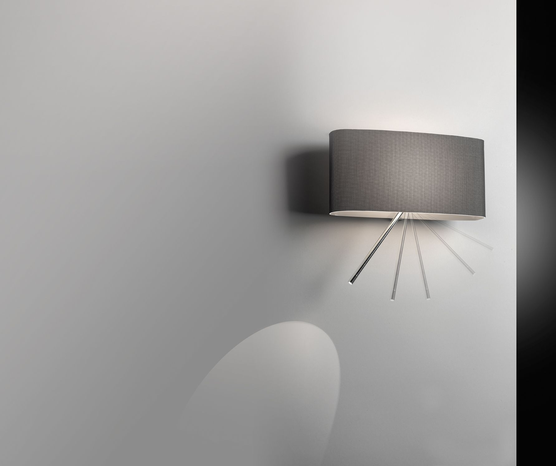 Pupilla Designer Mimo Mussapi Wall Lamps With Integrated