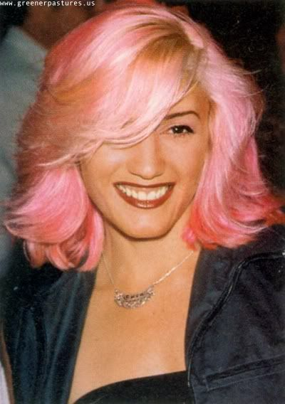 Gwen Stefani Pink Hair Dye Pink Hair Punk Hair
