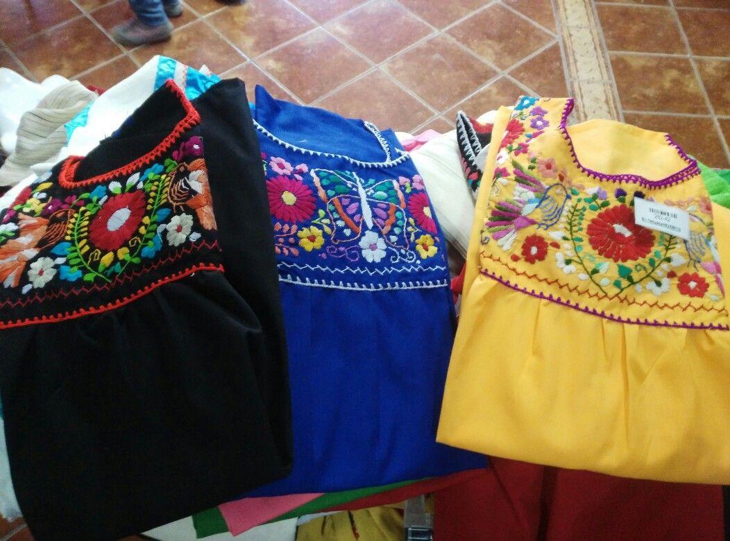 25198fe9e4 Blusa Tehuacan en Popelina