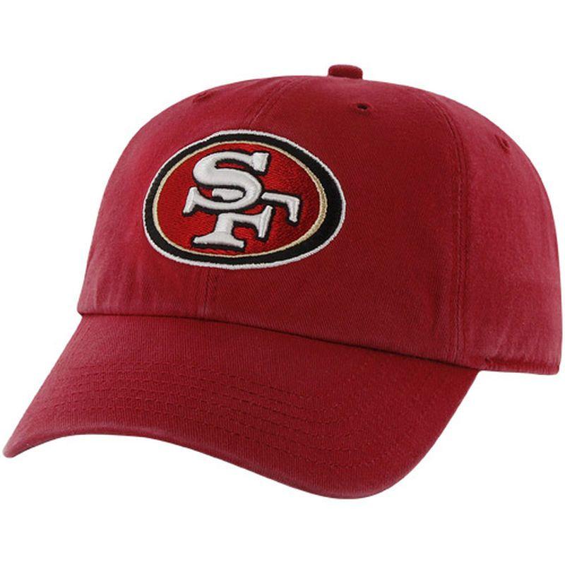 best loved 26f36 88fde  47 Brand San Francisco 49ers Women s Cleanup Adjustable Hat - Red.