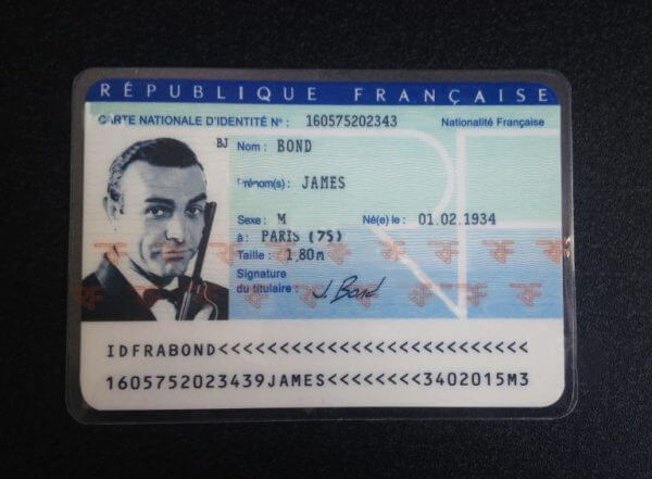 French Fake National Id Card Carte Nationale D Identite Throughout Best Free French Id Card Template Id Card Template Card Template Cards