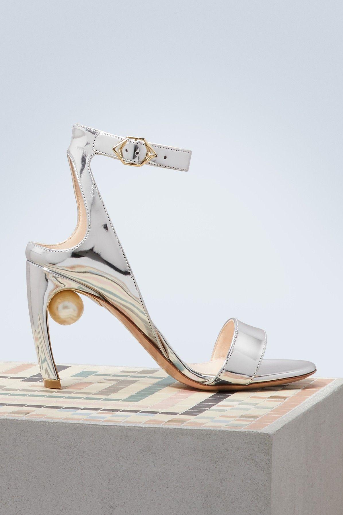 Lola pearl sandals - Blue Nicholas Kirkwood p0QHXGr