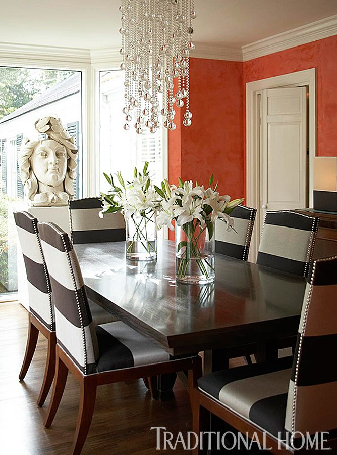 25 Years of Beautiful Dining Rooms Traditional Home Home Decor - Beautiful Dining Rooms
