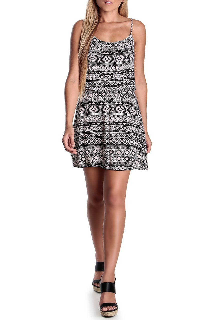 Tamara Global Print Dress