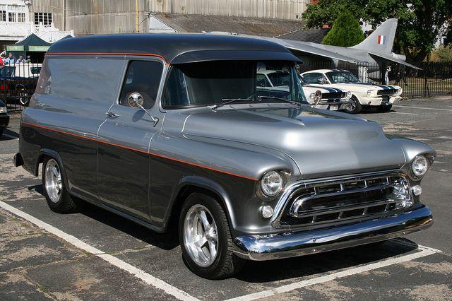 1957 Chevrolet Panel Van Classic Trucks Chevy Trucks Classic