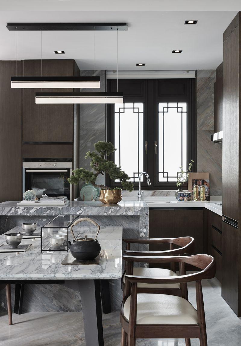 Kitchen Dining Interior Design: The Dynasty Show House / Face & Associates Inc.Interior