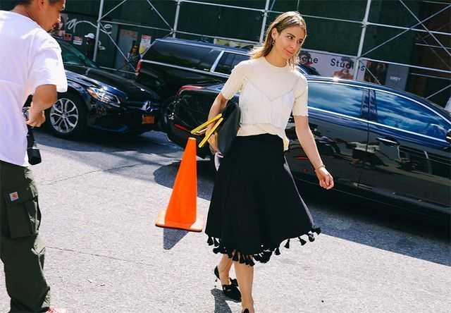 10 Cool Street Style Looks From New York Fashion Week