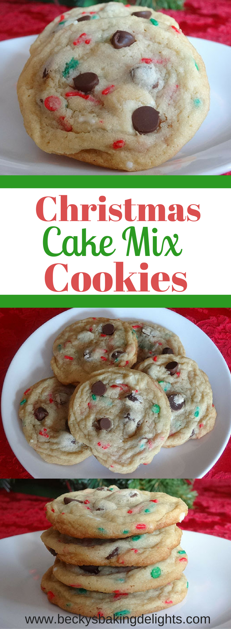 Christmas Cake Mix Cookies Recipe Cake mix cookies