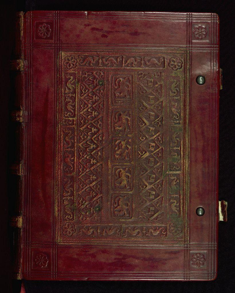 Book Of Hours Of Daniel Rym, Binding, Walters Manuscript W