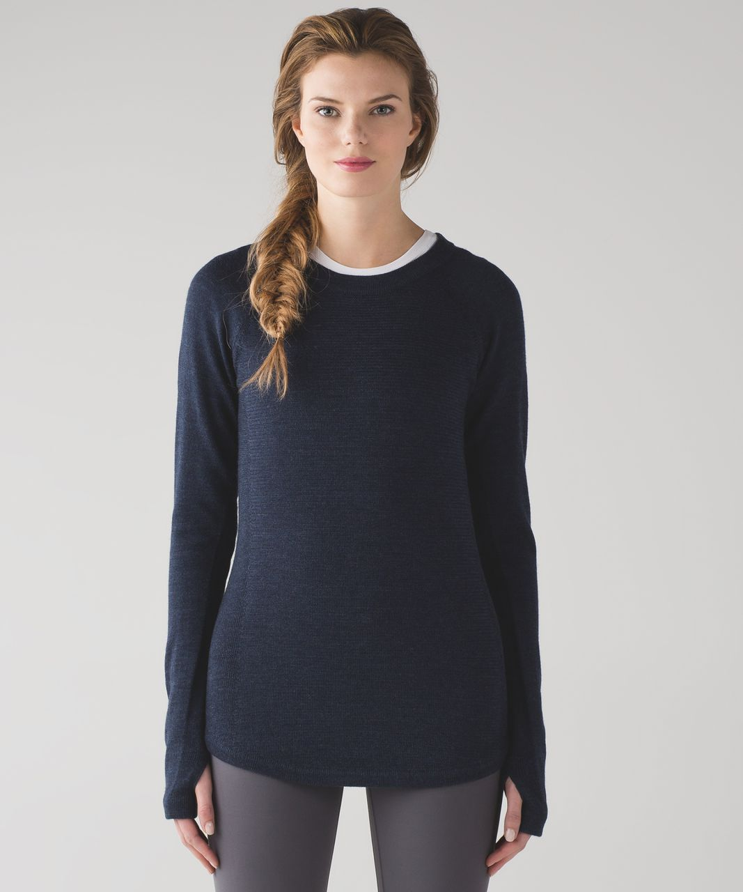 1c4695812e Lululemon Sit In Lotus Sweater - Heathered Inkwell | My lululemon ...