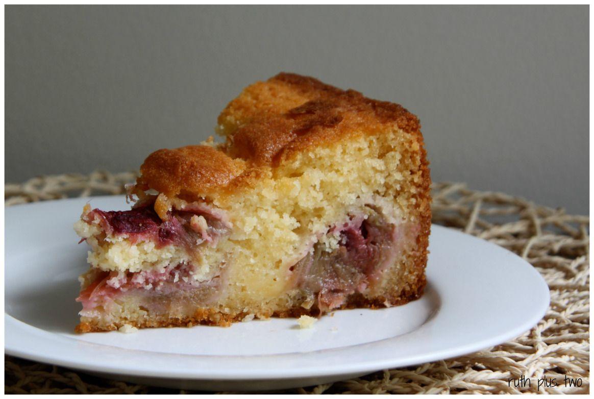 Rhubarb custard cake Gluten free sweet, Rhubarb cake