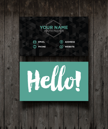Hello business cards youth ministry media store youth ministry hello business cards youth ministry media store colourmoves