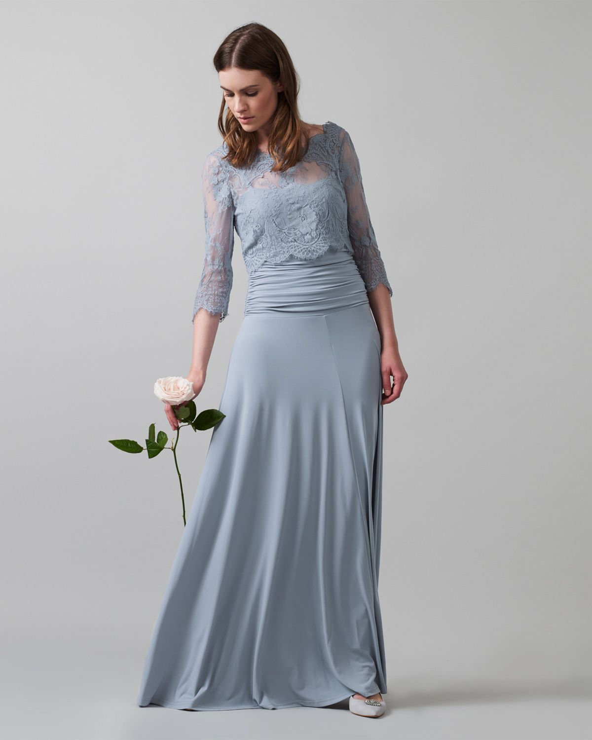 Serenity dusty blue bridesmaid dress romily lace full length serenity dusty blue bridesmaid dress romily lace full length dress phase eight ombrellifo Image collections