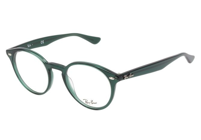 54031f65af1 Ray-Ban RB2180-V 5495 Green eyeglasses are the perfect everyday look ...