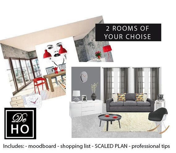 Special Offer 2 Rooms Interior Design Full Package By DeHo
