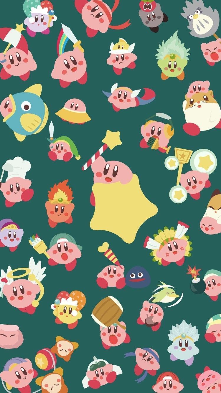 Pin by Eleanor Grace on Wallpapers Kirby character, Cute