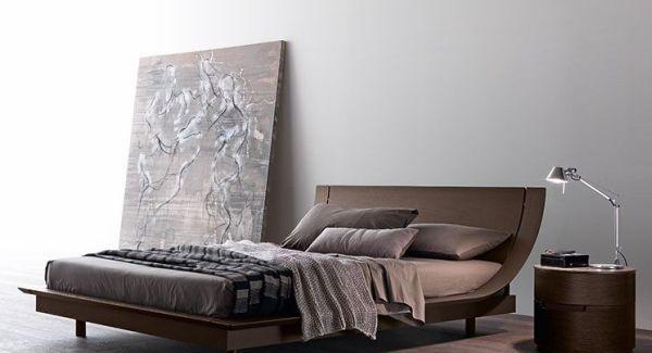 Das moderne Aqua 2 Plattformbett von Presotto Bett
