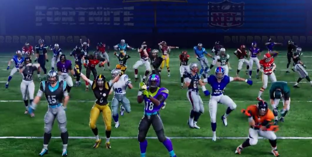 Fortnite Teams Up With The Nfl For Themed Skins Outfits Fortnite