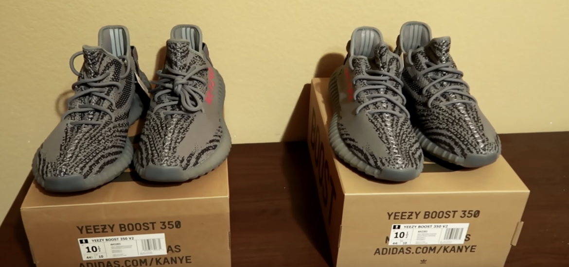 60c4ab4c4 real vs fake yeezy boost 350 reviews