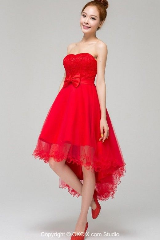 Red beach wedding dresses | Bridesmaid Dresses | Pinterest ...
