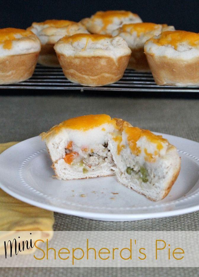 Mini Shepherd S Pie Savoury Food Food Recipes