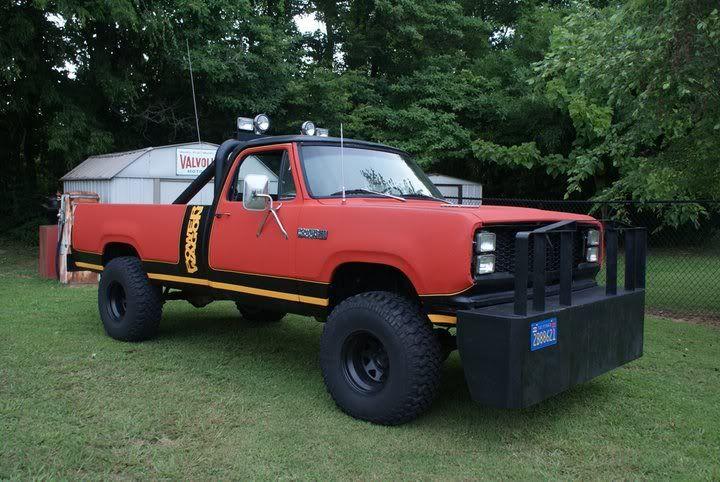 dodge ram power wagon 1980
