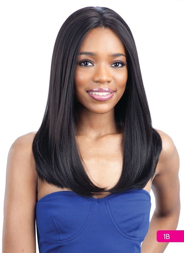 BABY HAIR 101 1 Jet Black - Freetress Equal Synthetic Lace